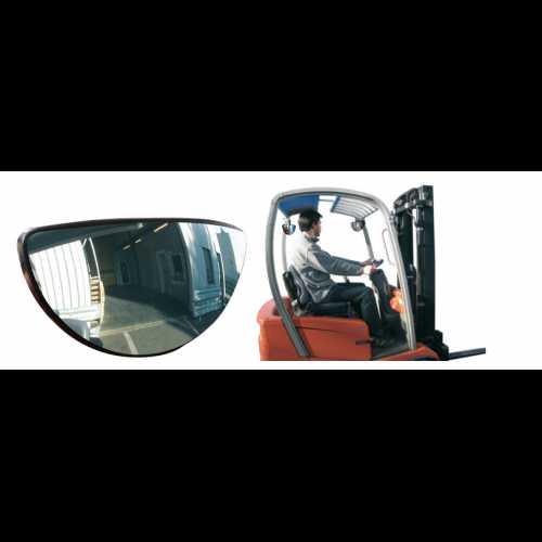 Lusterko przednie i tylne do wózków widłowych Vumax 3