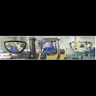 Lusterko przednie do wózków widłowych