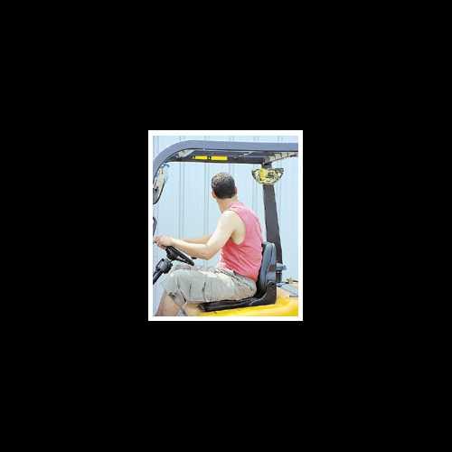 Lusterko tylne dla wózka widłowego