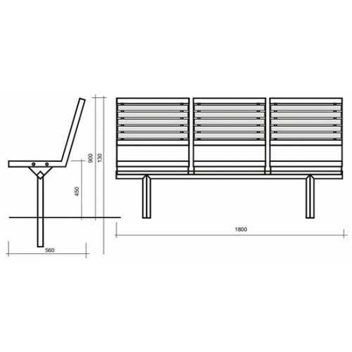 Ławka L32