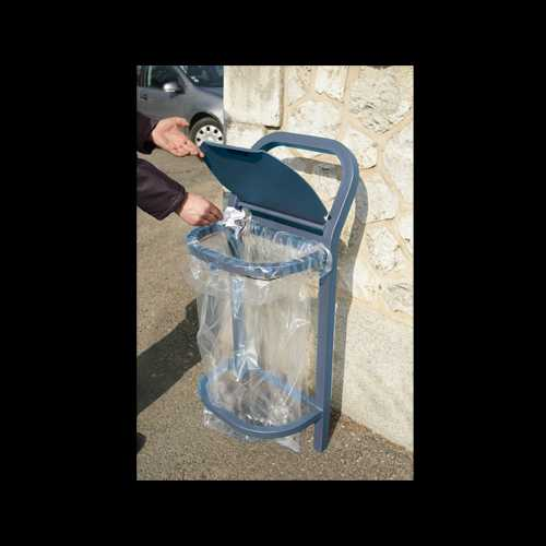 Kosz na śmieci Antyterrorystycny 50 l stalowy