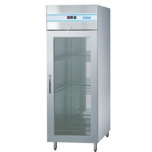 Szafa chłodnicza 700L z drzwiami szklanymi, z oświetleniem LED
