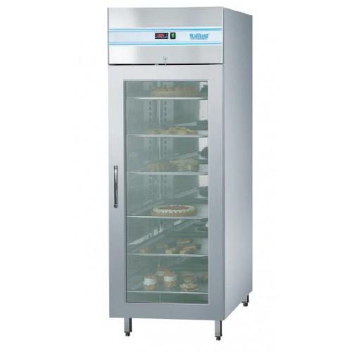 Szafa mroźnicza piekarnicza z drzwiami szklanymi 700L, z oświetleniem LED