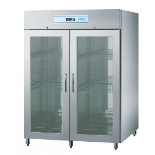 Szafa chłodnicza 1400L z drzwiami szklanymi, z oświetleniem LED