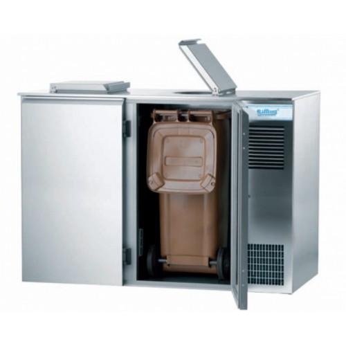 Schładzarka odpadów na pojemniki 2 x 120 l