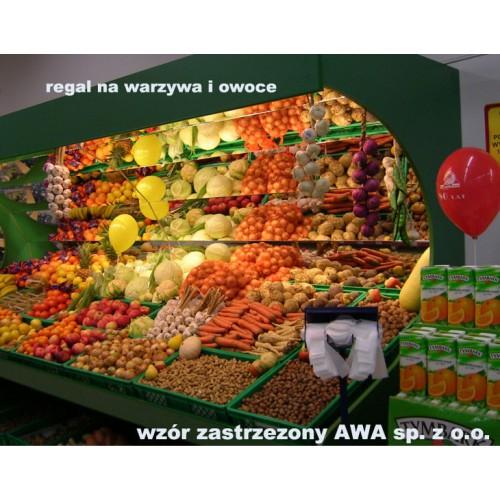 Regał na warzywa owoce typ lustrzany