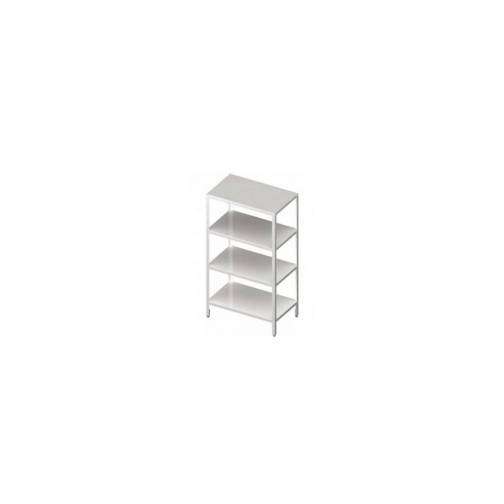 Regał magazynowy, półki pełne 600x600x1800 mm