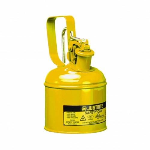 copy of Pojemnik zabezpieczający stalowy na płyny łatwopalne 0.5 l Typ I żółty