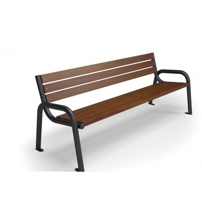 Ławka ogrodowa miejska Iskra Promyk 150 i 180 cm