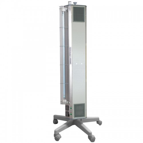 Lampa bakteriobójcza przepływowa stojąca potrójna 45-90 m3 NBVE-110/55 PL
