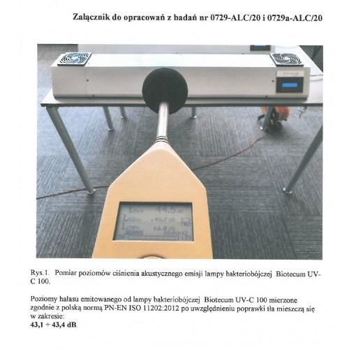 Lampa bakteriobójcza BiotectumUV-C 100 50 955-0600-0050 badanie