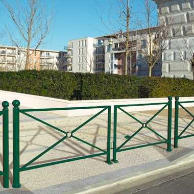 Bariera miejska obrotowa brama Province