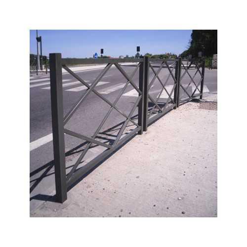 Bariera miejska ogrodzenie 150 cm Romb
