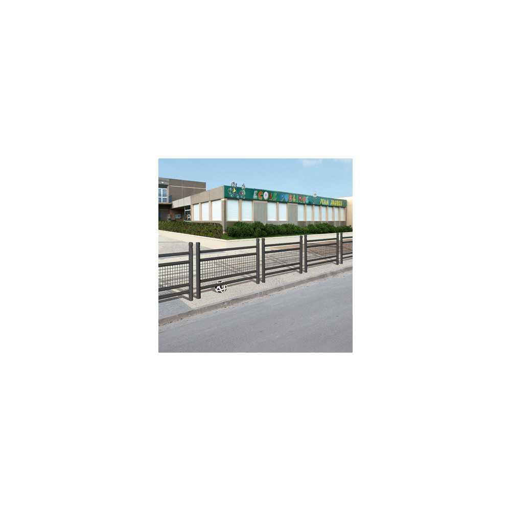 Bariera miejska drogowa ogrodzenie 157 cm Linea