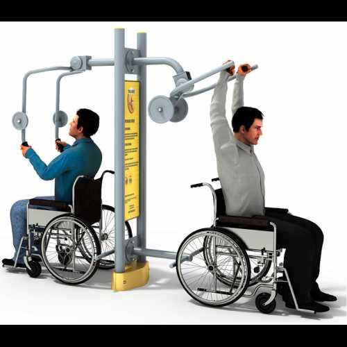Dla niepełnosprawnych ED-01 B wyciskanie+pylon