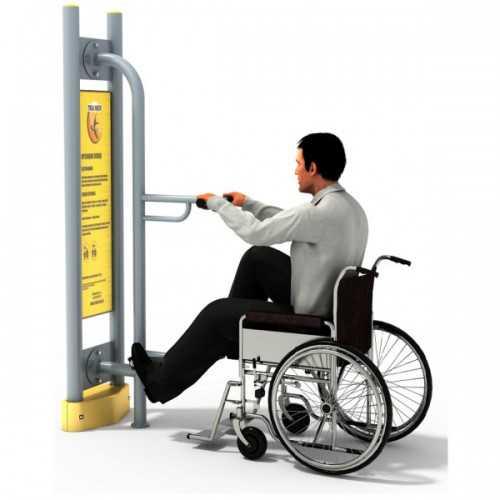 Dla niepełnosprawnych ED-03 A rowerek+pylon