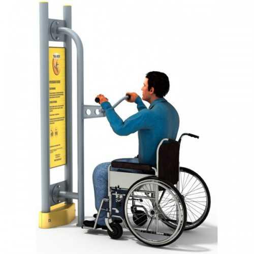 Dla niepełnosprawnych ED-05 B podciągacz+pylon