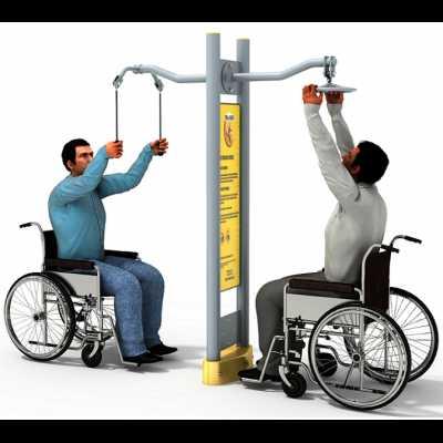Dla niepełnosprawnych ED-06 A trenażer ramion koło+pylon