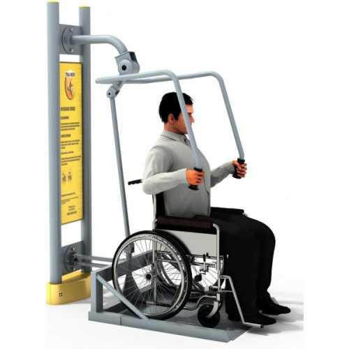 Dla niepełnosprawnych ED 10 wyciskanie z platformą pylon