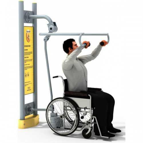Dla niepełnosprawnych ED 12 wyciąg z ciężarkiem pylon