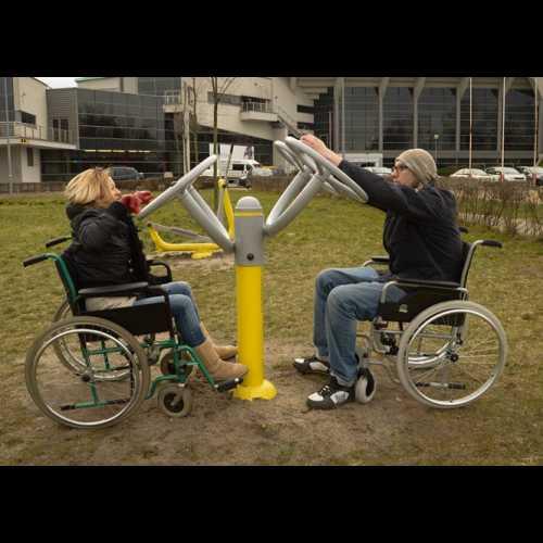 Dla niepełnosprawnych ED 04 koła tai chi słup