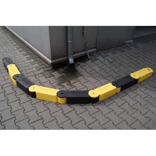 Separator ruchu łańcuchowy modyfikowany