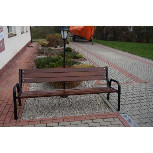 Ławka ogrodowa miejska Promyk II