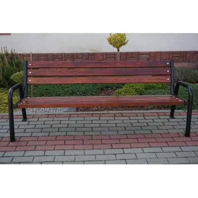 Ławka ogrodowa miejska Promyk II front