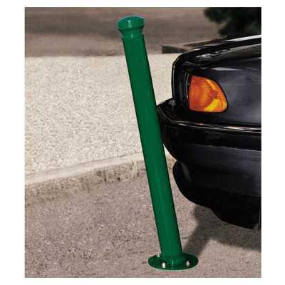 Słupki drogowe odchylane amortyzujące zielony kolor
