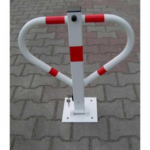 Blokada słupek zapora parkingowa Triangle składana na klucz