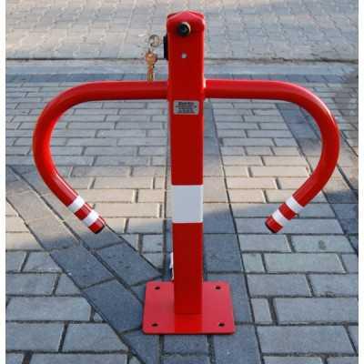 Blokada słupek zapora parkingowa Policeman składana na klucz górny