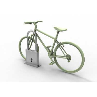 Stojak na rowery Kłódka wersja otwarta