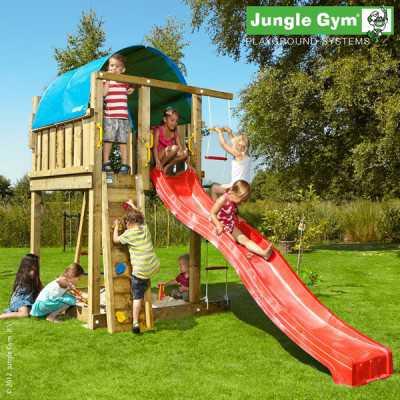 Drewniany plac zabaw Jungle Gym VILLA