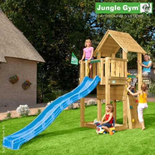 Drewniany plac zabaw Jungle Gym CUBBY