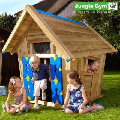 Domek ogrodowy Jungle Gym CRAZY PLAYHOUSE