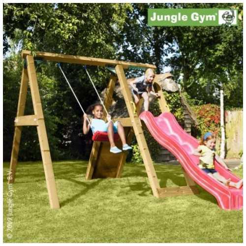 Drewniany plac zabaw Jungle Gym PEAK