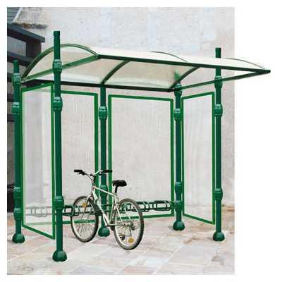 Wiata aluminiowa z zadaszeniem Dekoracyjna rowerowa przystankowa sklepowa