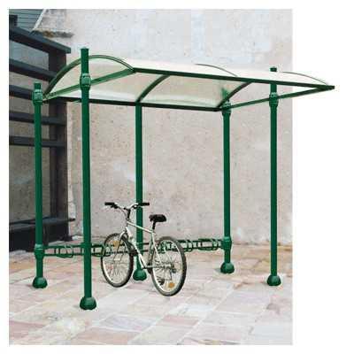 Wiata aluminiowa z zadaszeniem Dekoracyjna  szkło rowerowa przystankowa sklepowa