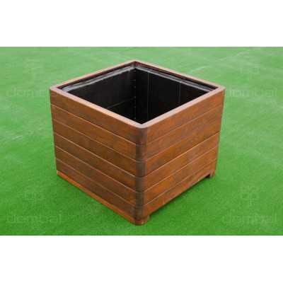 Donice drewniane 3 elementowe