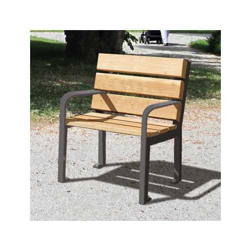 Fotel ogrodowa parkowa miejska ławka Silaos