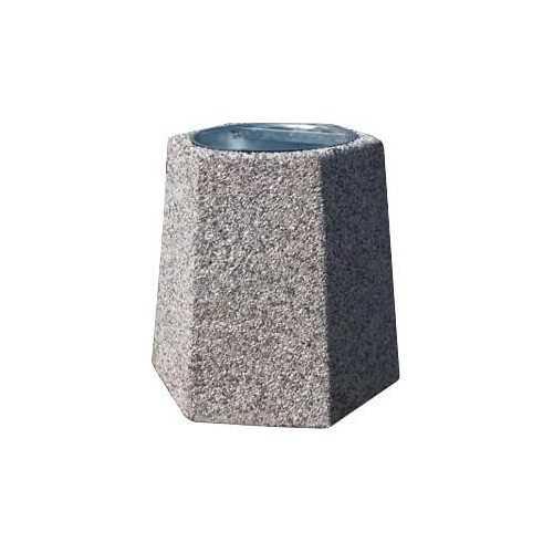 Kosz na śmieci betonowy B2