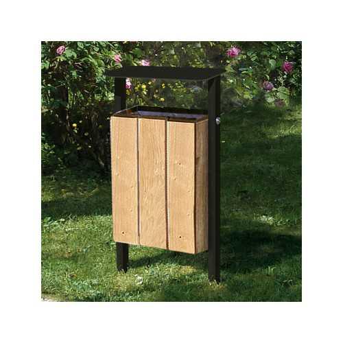 Zupełnie nowe Kosz na śmieci Silaos® drewniany 30 litrów QM74