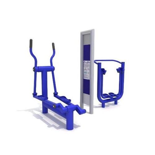 Urządzenie Fitness Orbitrek Biegacz F4+F11