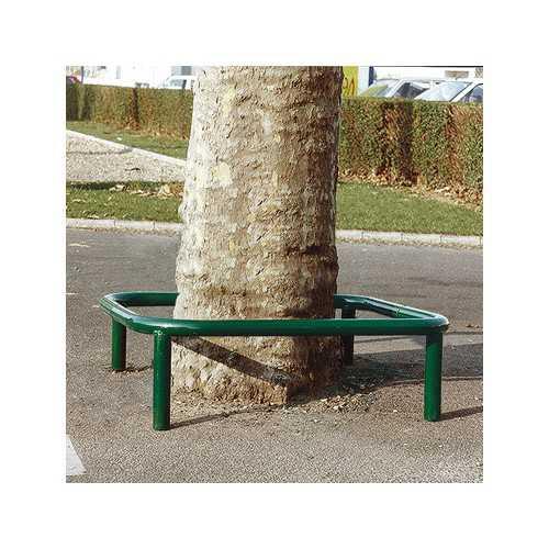 Osłona drzewa metalowa gniazdowa kwadratowa