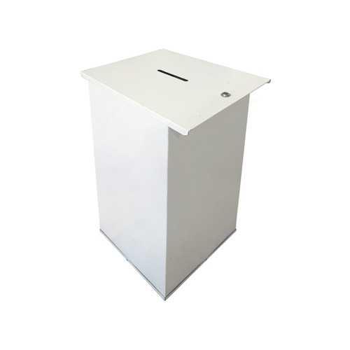 Urny metalowe składane 40x40x80 cm do głosowania